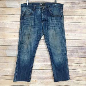 William Rast   Raw Hem Skinny Jeans 100% Cotton